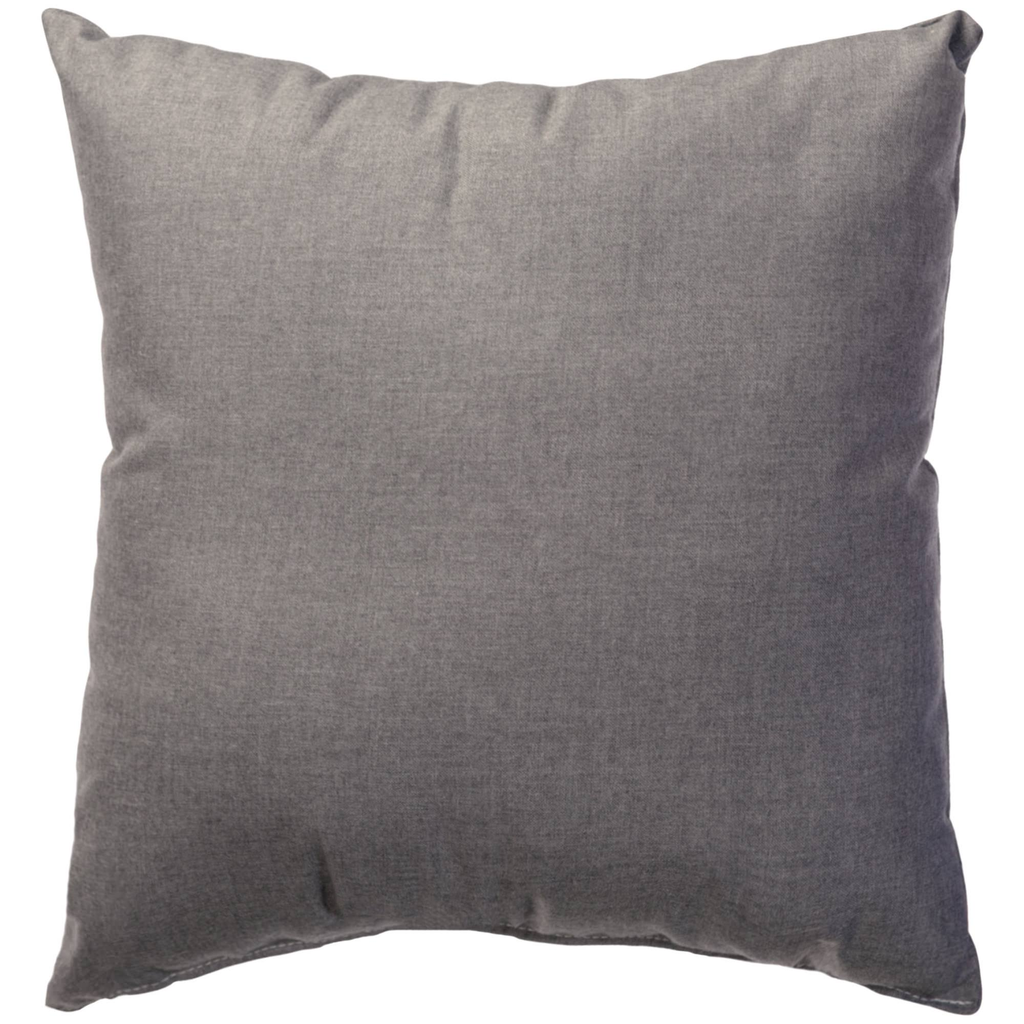 Cast Slate Sunbrella Outdoor Throw Pillow