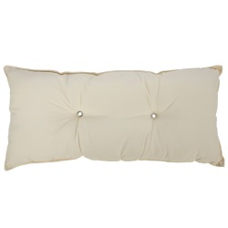 Tufted Hammock Pillow- Cream
