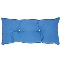 Tufted Hammock Pillow- Canvas Capri