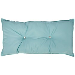 Tufted Hammock Pillow- Canvas Glacier