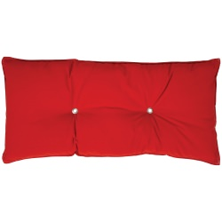 Tufted Hammock Pillow- Jockey Red