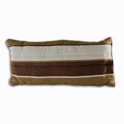 Large Cushioned Hammock Pillow - Rio Birch Stripe