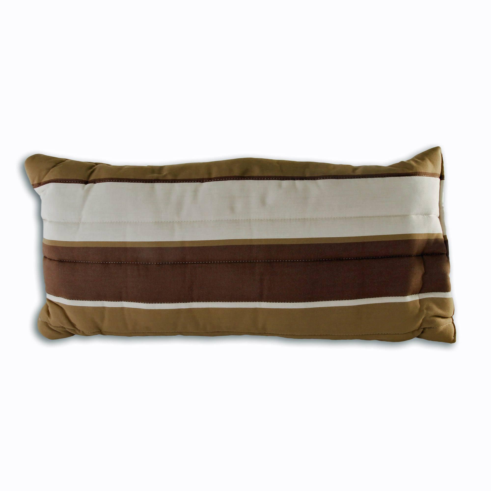 Large Cushioned Hammock Pillow Rio Birch Stripe