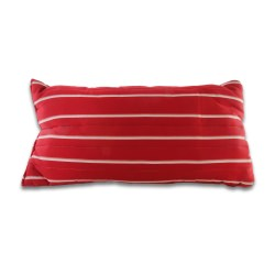 Large Cushioned Hammock Pillow - Classic Red Stripe