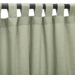Cast Oasis Sunbrella Outdoor Curtain With Tabs