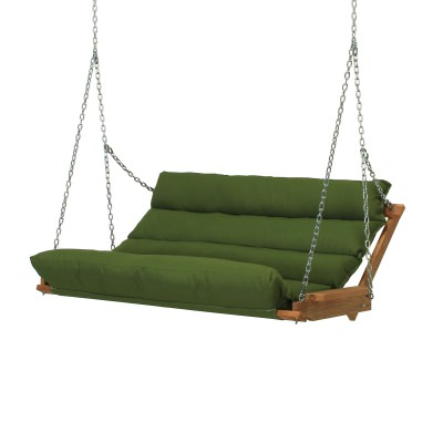 Deluxe Cushion Swing - Leaf Green