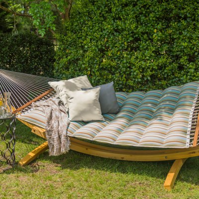 Pillowtop Hammock - Spring Bay Stripe