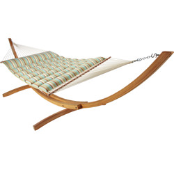 Pillowtop Hammock - Skygazer - Spring Bay Stripe