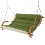 Deluxe Cushioned Double Swing - Canvas Turf