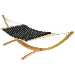 Pillowtop Hammock - Artist - Classic Black Stripe