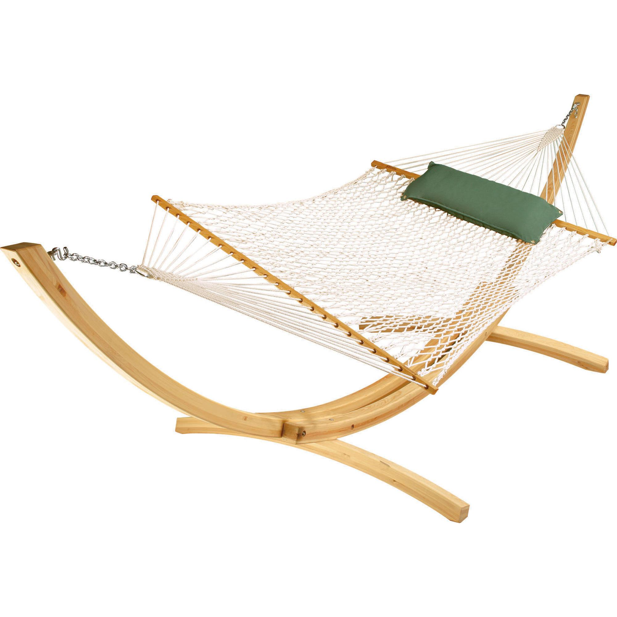 Wonderful Hatteras Hammocks #1: Hatteras-hammocks-deluxe-white-polyester-rope-hammock-1-xx.jpg