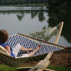 Quick-Dry Hammock - Mariner - Nantucket Summer Fabric