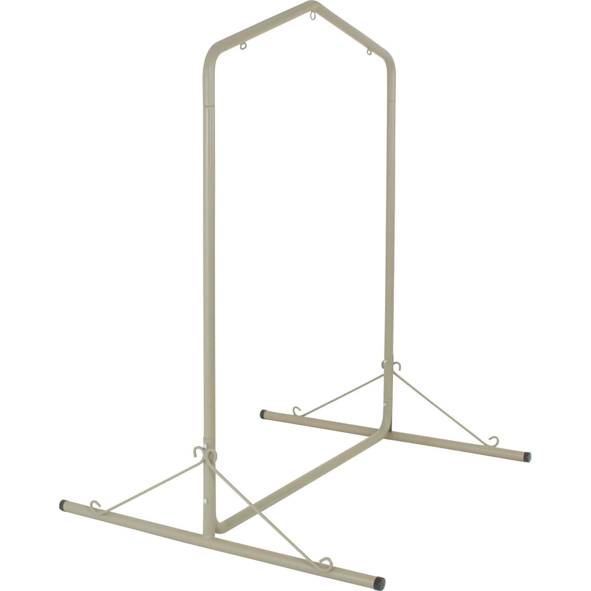 Hatteras hammocks swsc1t steel single swing stand taupe
