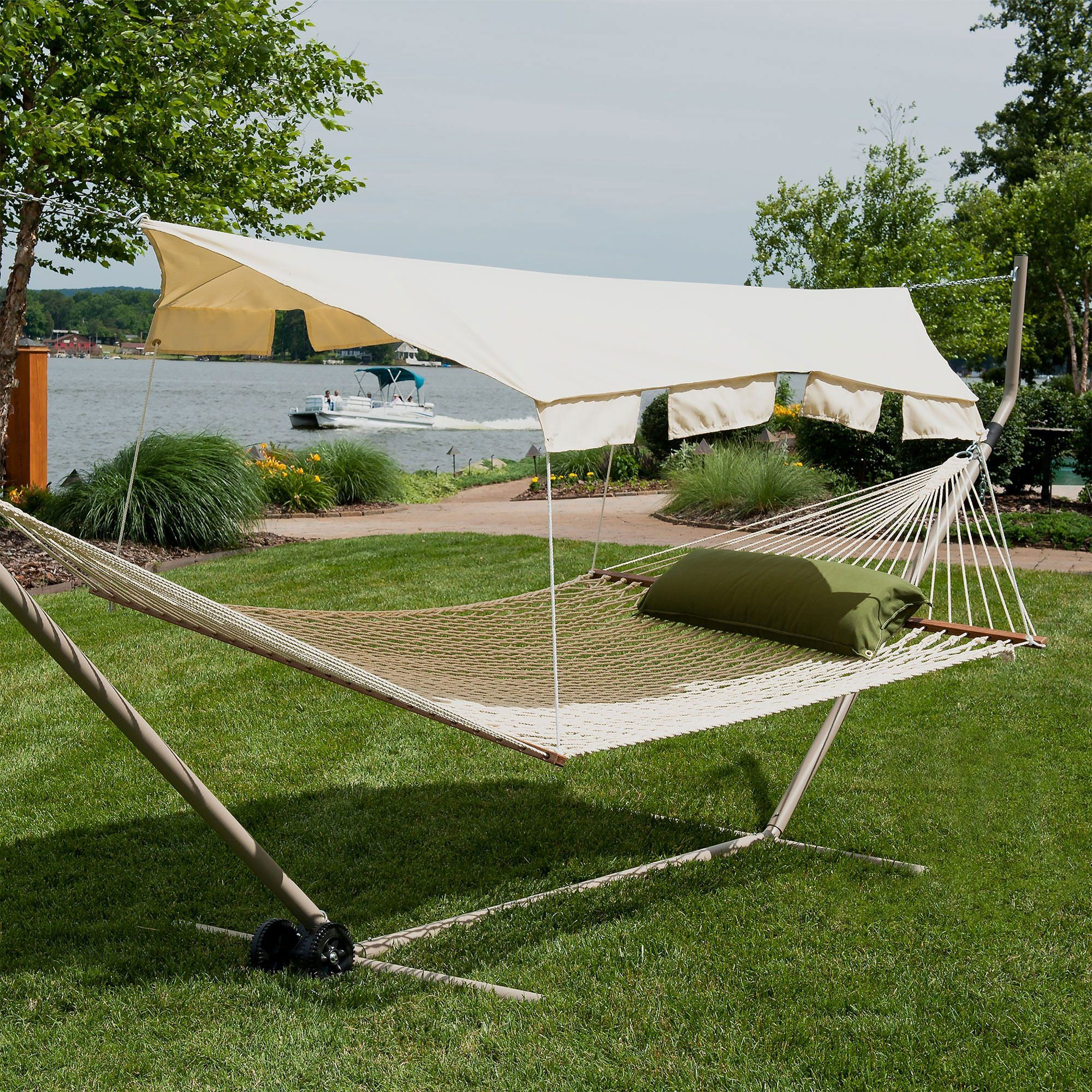 Hammock Canopy - Taupe & Taupe Hammock Canopy on Sale | CPY-TTX