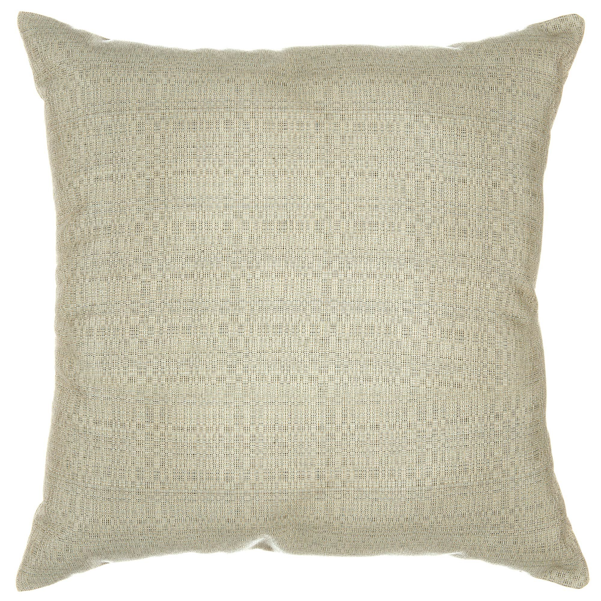 Linen Silver Sunbrella Designer Porch Pillow by Pawleys Island
