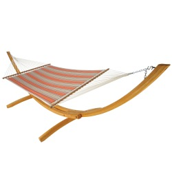 Quilted Hammock - Passage Poppy