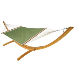 Quilted Hammock - Canvas Turf
