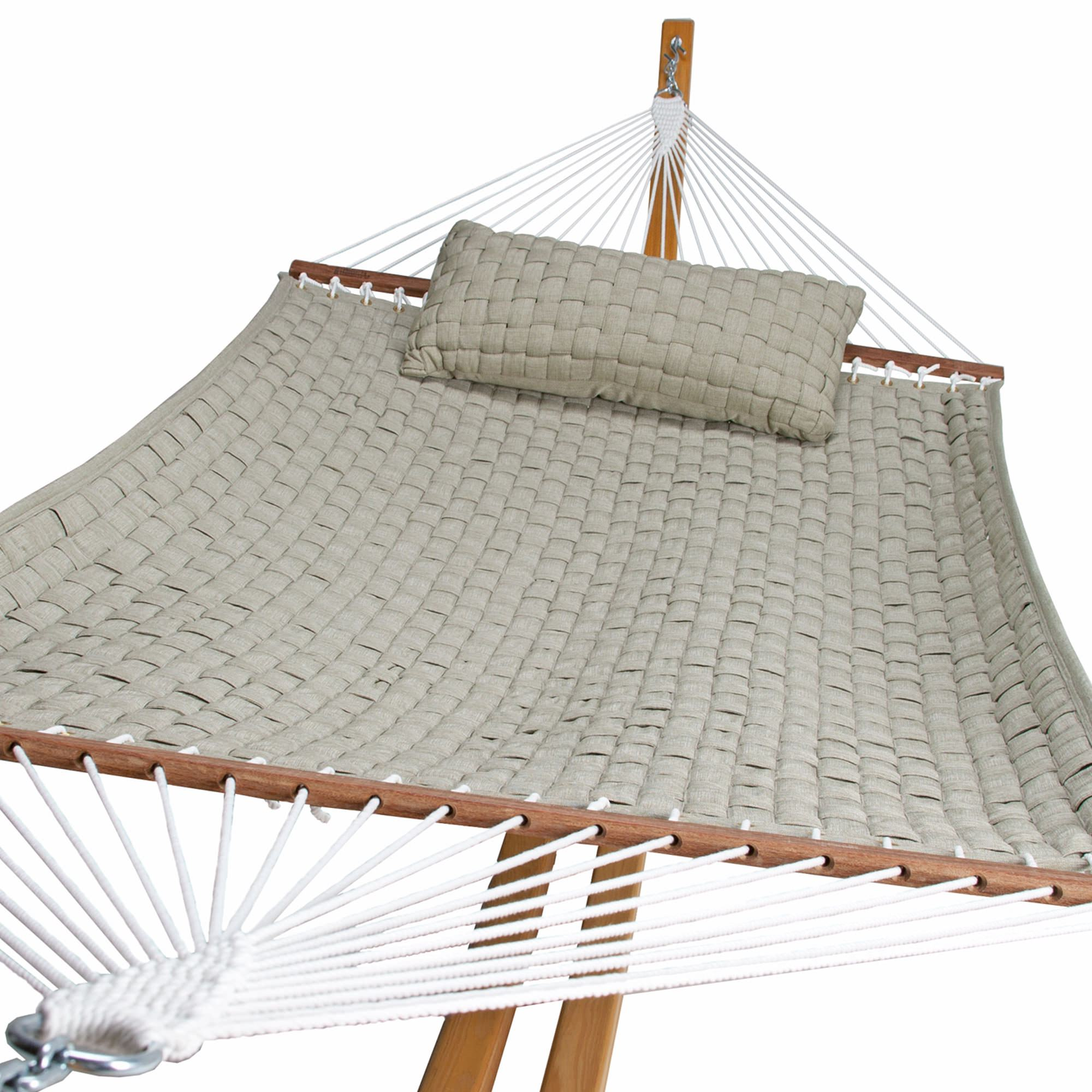 Soft Weave Hammock - Flax by Hatteras Hammocks