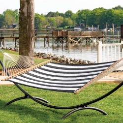 Large Quilted Hammock - Canvas Classic