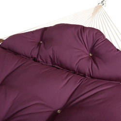 Large Tufted Hammock Pillow - Canvas Iris