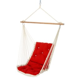 Tufted Single Swing - Canvas Jockey Red