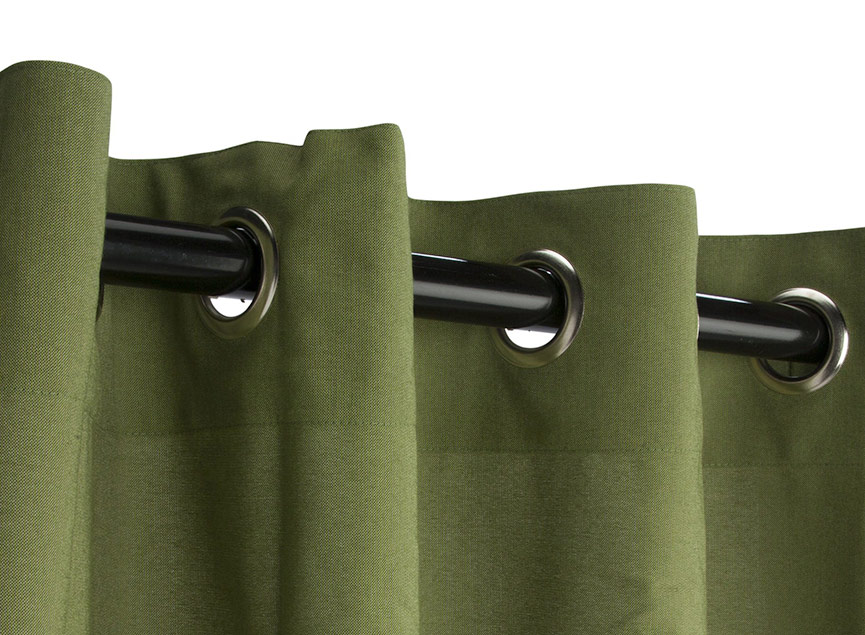 Grommet-Top Curtains
