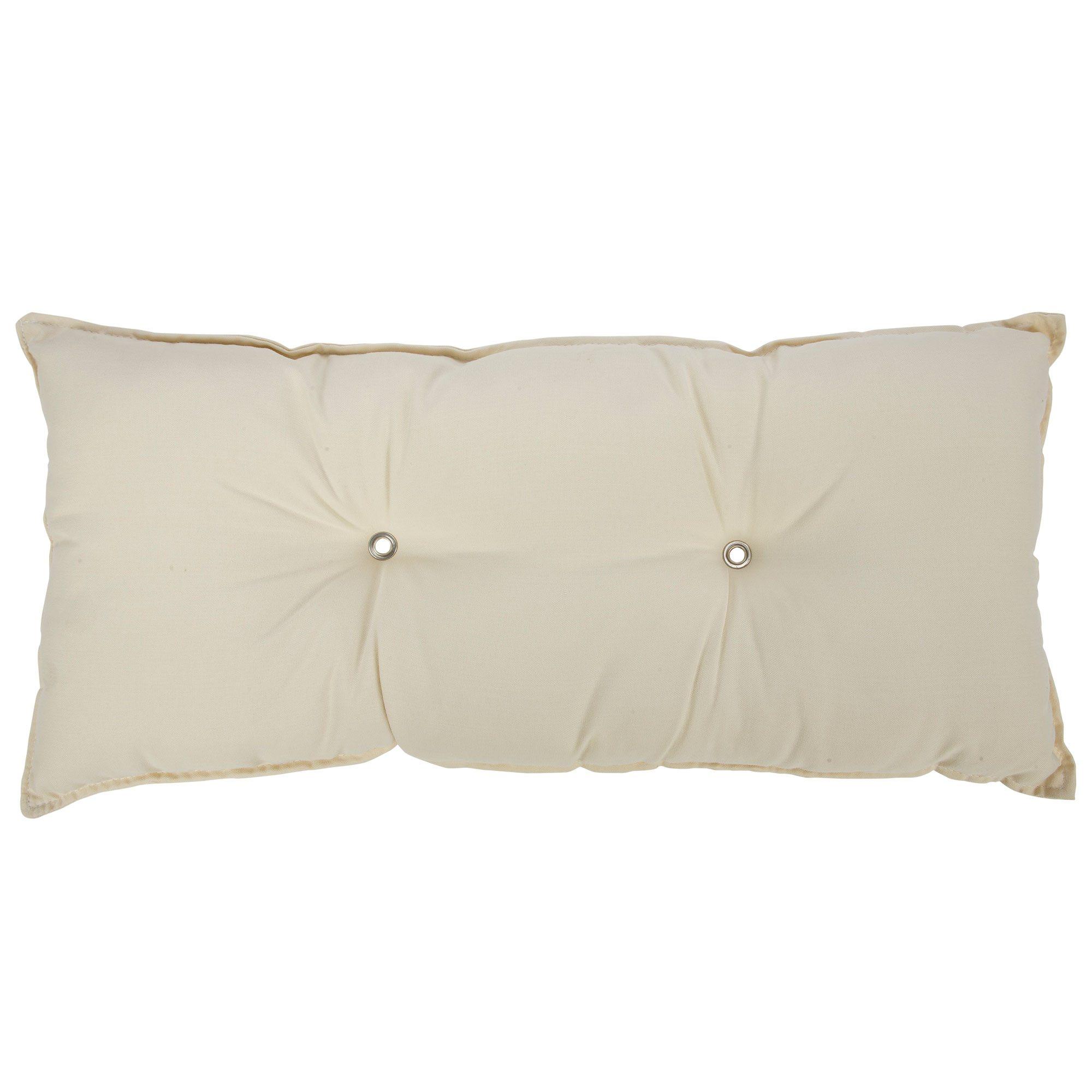 Tufted Hammock Pillow Cream B T11