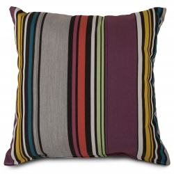 Sunbrella Icon Mystic Pillow in 18 in. x 18 in. Square