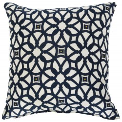 Sunbrella Throw Pillow Luxe Indigo
