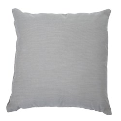 Sunbrella Spectrun Dove Throw Pillow 18 in. x 18 in. Square