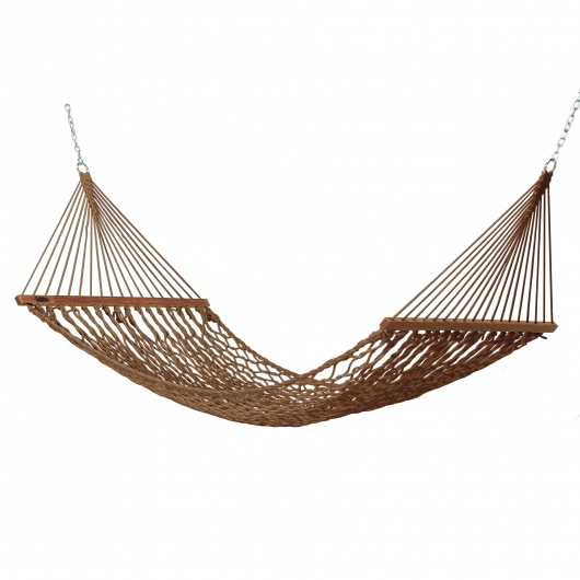 Small DuraCord Rope Hammock - Antique Brown