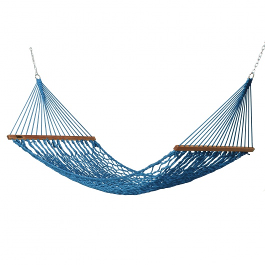 Small DuraCord Rope Hammock - Coastal Blue