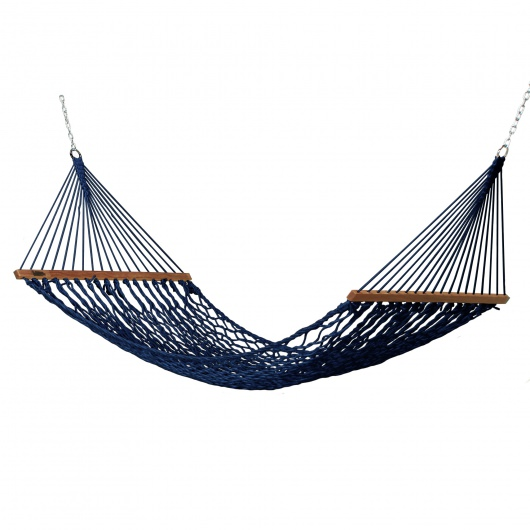 Small DuraCord Rope Hammock - Navy