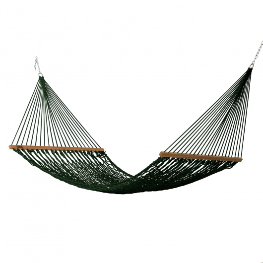 Large DuraCord Rope Hammock - Green