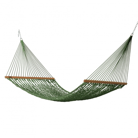 Large DuraCord Rope Hammock - Meadow
