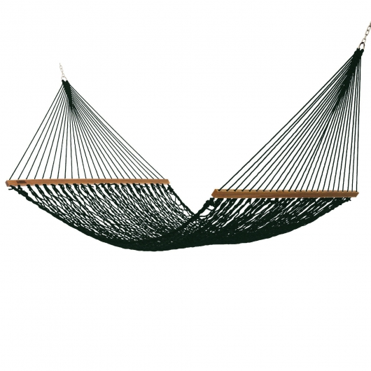 Executive DuraCord Rope Hammock - Green