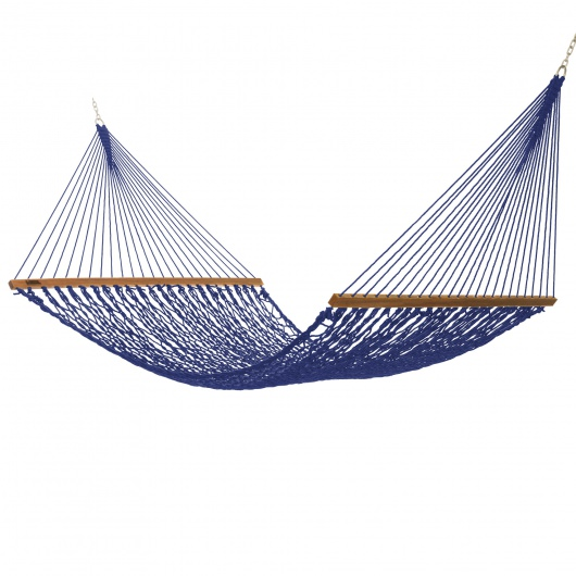 Executive DuraCord Rope Hammock - Navy