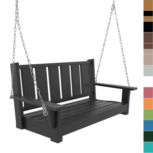Double Bench Porch Swing
