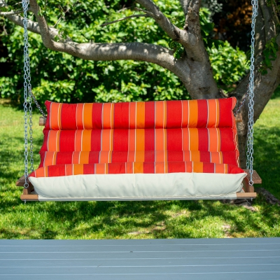Deluxe Sunbrella Cushion Swing - Expand Tamale