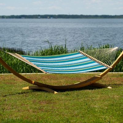 Large Sunbrella Quilted Hammock - Expand Calypso