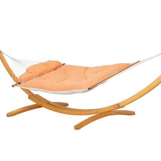 Large Sunbrella Tufted Hammock - Adaptation Apricot