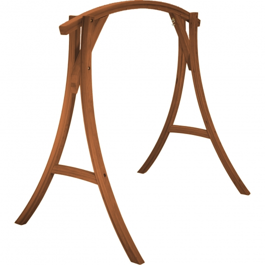 Roman Arc Cypress Swing Stand - Canyon Brown