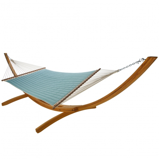 Quilted Hammock - Canvas Glacier