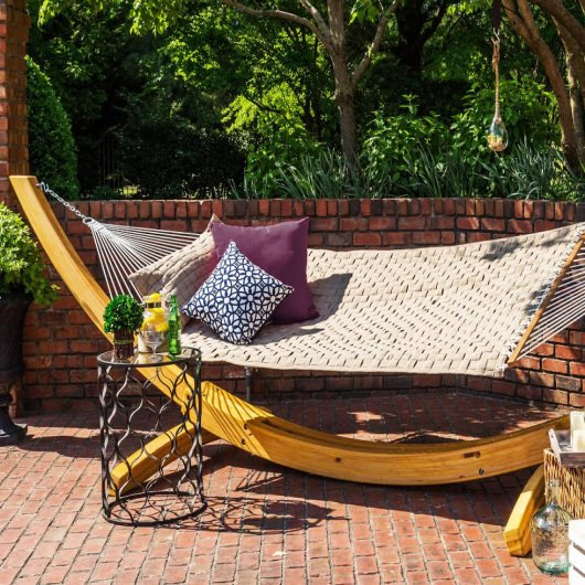 Soft Weave Hammock - Antique Beige