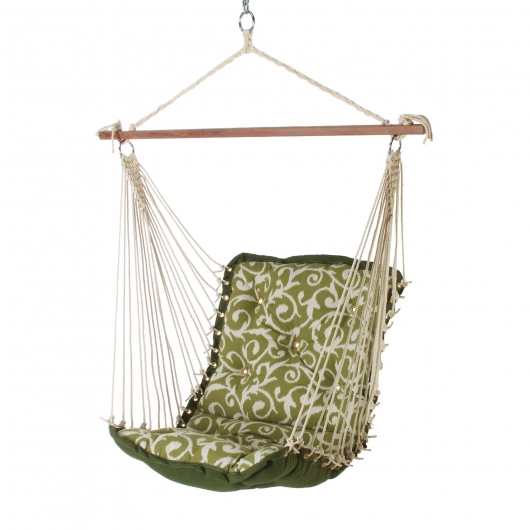 Tufted Single Swing - Olive Green Basalto