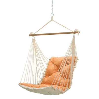 Tufted Sunbrella Single Swing - Adaptation Apricot