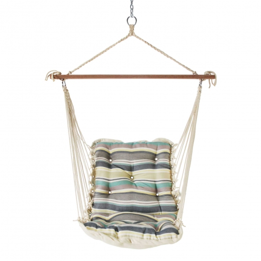 Tufted Single Swing - Aspire Seabreeze