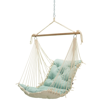 Tufted Sunbrella Single Swing - Spectrum Mist