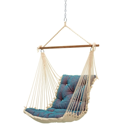Tufted Sunbrella Single Swing - Platform Horizon