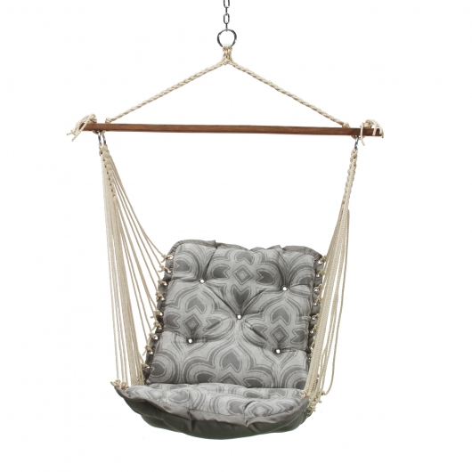 Tufted Single Swing - Monticello Slate Gray